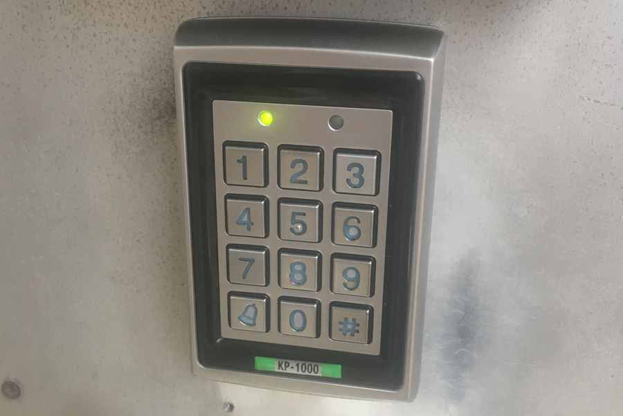 New Security Keypad Replacement Project Sheffield