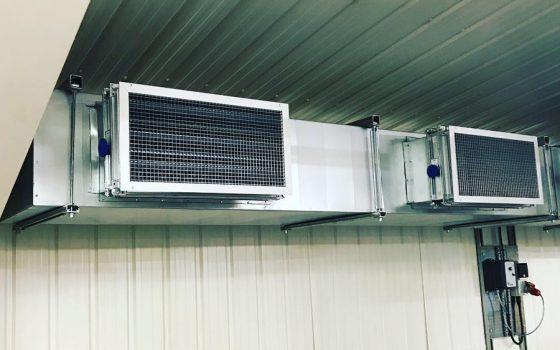 Ventilation System Installation Ashbourne