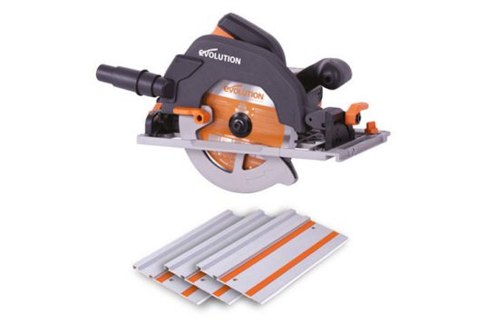 Product Review: 185mm TCT Multi-Material Cutting Circular Saw With Track